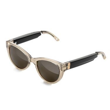 Designer Audio Sonnenbrille - Fabula Crystal Brown